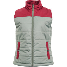 United By Blue Bison Puffer Vest Dames, dark olive